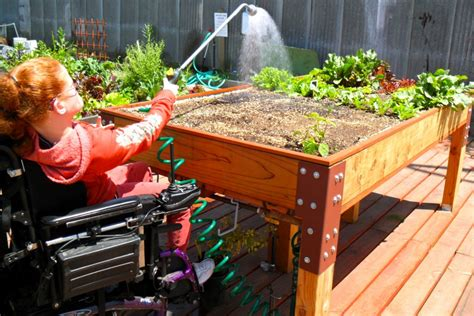 Accessible beds help Kenney Cottage gardens thrive