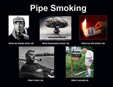 Smoker Meme - funny pipe smoking meme