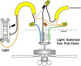 Installing Ceiling Fan Wire Wiring Diagrams For Lights With Fans And One Switch Read