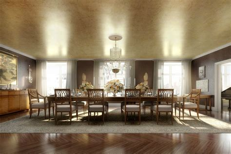classic luxury dining room interior design ideas