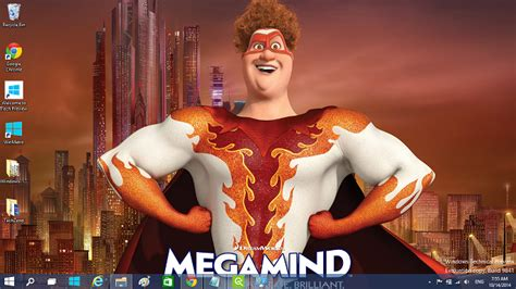 cartoon themes for windows 10 megamind windows 10 theme available
