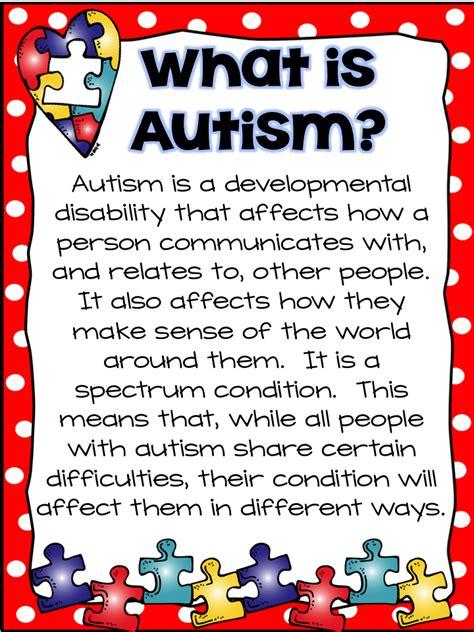 National Autism Awareness Month A Traveled Teacher Autism Ideas