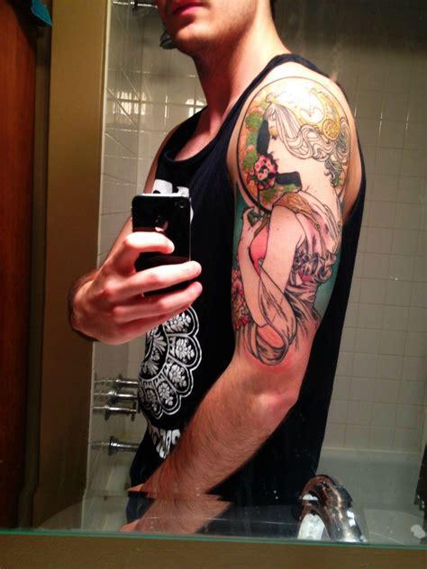 top tattoo artists quebec my mucha half sleeve samantha smith canada