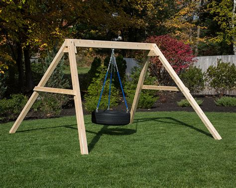 stand alone swings free standing tire swing