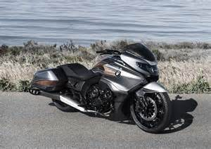 bmw motorrad concept 101 six cylinders of bagger