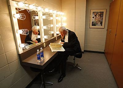 actors dressing room george zack the s conductor copious notes