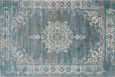tapijt 90 cm breed bol vloerkleed classic grey blue 80x150 cm