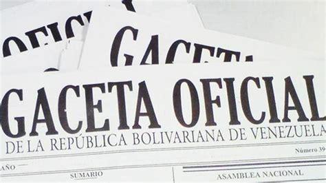 gaceta nueva islr venezuela publicada en gaceta oficial extraordinaria la nueva ley