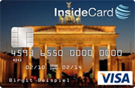 kreditkarte mit eigenem bild insidecard prepaid kreditkarte im test so gut ist die karte