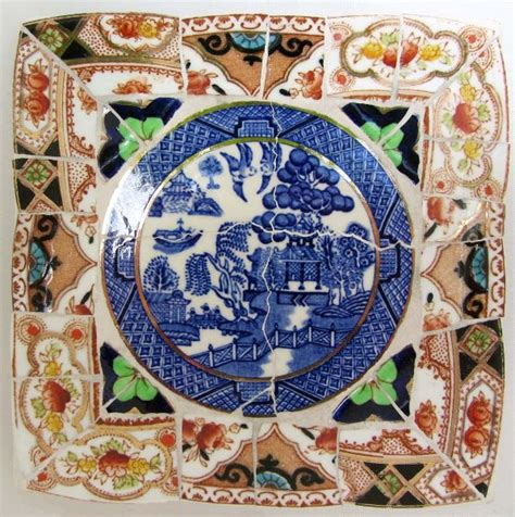 willow pattern mosaic 60 best blue willow images on pinterest mosaic mosaic