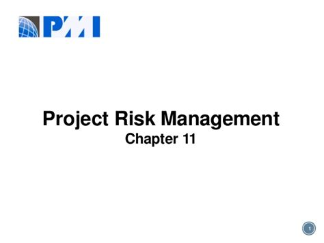 Risk Management Mba Project Pdf by Pmp Risk Chapter 11