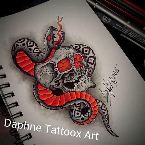 imagenes de calaveras y serpientes tattoo calavera dibujo on instagram