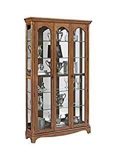 Curio Cabinets Lights Pulaski Bourges Curio Cabinet Light Wood