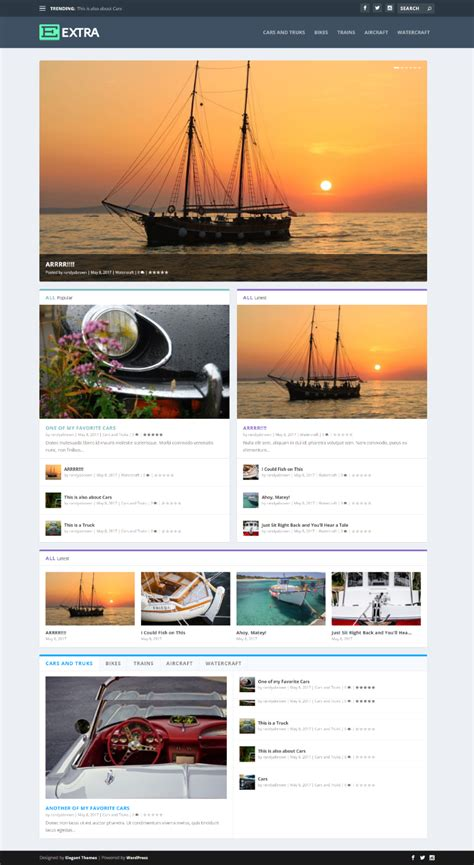 category blog layout module extra plugin highlight extra module mate elegant