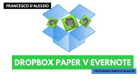dropbox keeps closing dropbox paper v evernote enrico s thoughts youtube