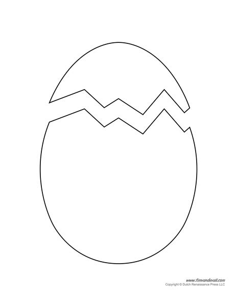 shell shaped pop up card template printable easter egg templates
