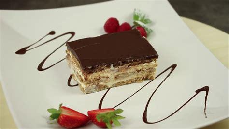 kuchen aus keksen eclair kuchen rezept ohne backen mit keksen und pudding