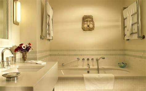 bathtub wallpaper دکوراسیون حمام و دست شویی 10 مجله دکوراسیون داخلی اتاق