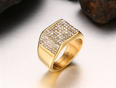 mens wedding gold rings wedding promise