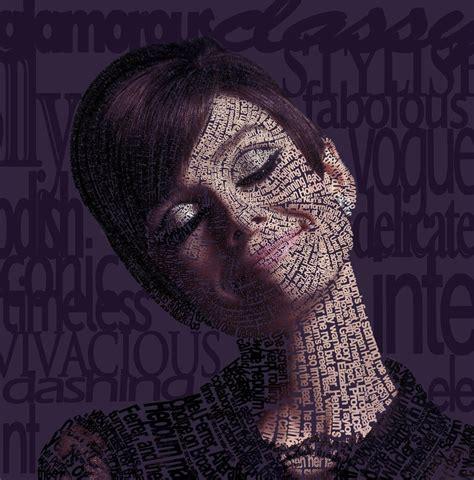tutorial photoshop typography portrait typographic portrait by jeddominique on deviantart