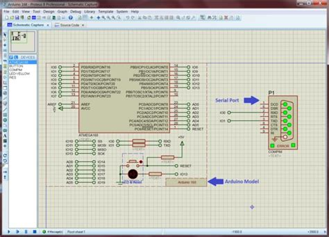 how to use resistor in proteus processing using the proteus arduino model