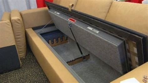couch gun safe cool gun case just plain cool pinterest cases your