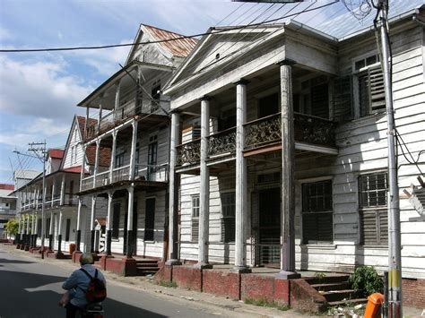 Houses In by File Paramaribo Houses In Typical Surinamese Style Jpg