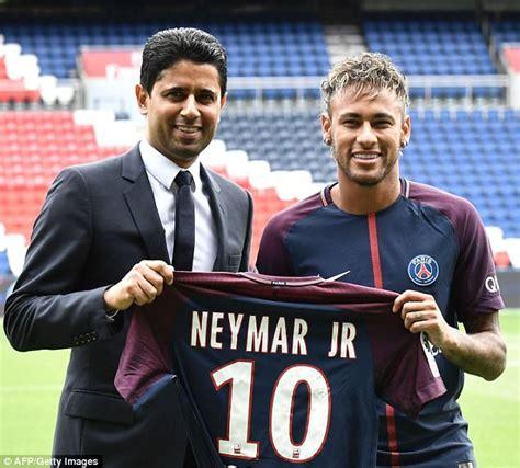 barcelona owner psg boss unai emery blames la liga for neymar debut delay