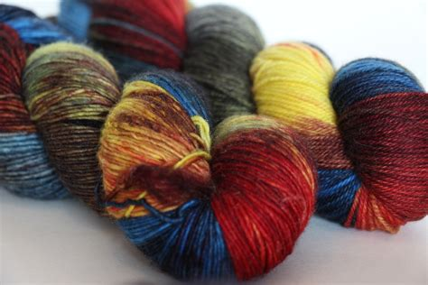 Backyard Yarn Zen Yarn Garden Serenity Silk Singles Artwalk Series In