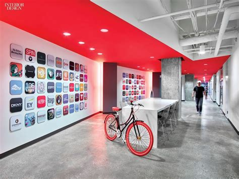 Smart And Corporate Office by 4 Technology Workplaces By A Web Of Gensler Offices