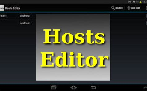 apk host hosts editor apk version 1 4 for android free