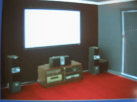 Home Theater Design Forum which of these 4 colour schemes for my ht pics incl