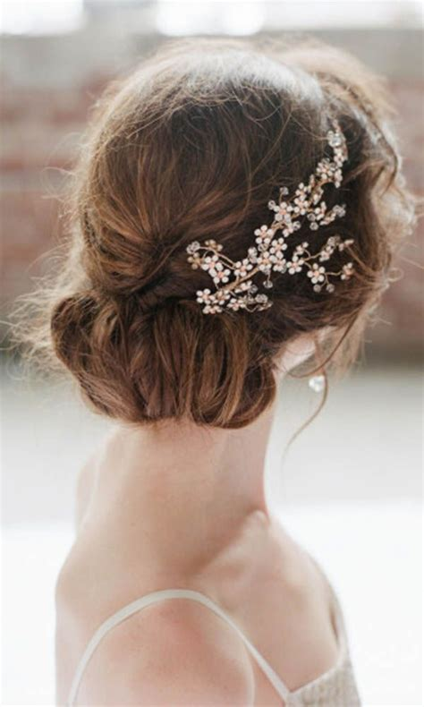 30 Amazing Wedding Hairstyles with Headpiece   Deer Pearl