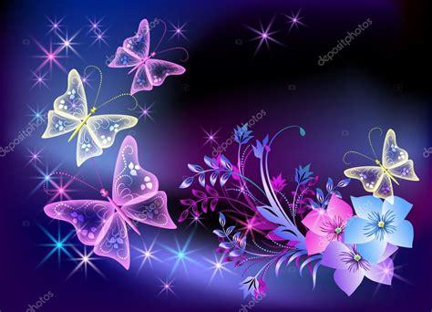 imagenes de mariposas brillantes para facebook farfalla e fiori trasparente incandescente vettoriali