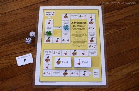 printable board games for elementary students printables