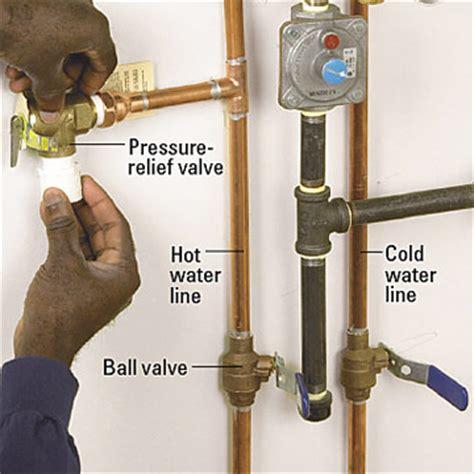 water heater safety valve installation blog plumbing contractors plumbing repair plumbing