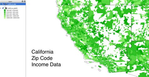 california zip code where to find the most current us zip code income data