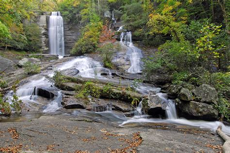 Pickens County Sc Records Falls Pickens County Sc Photograph By Willie