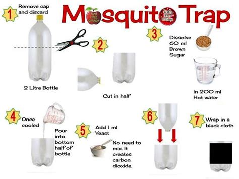 how to get rid of mosquitoes naturally 20 best ideas about mosquito trap homemade on pinterest