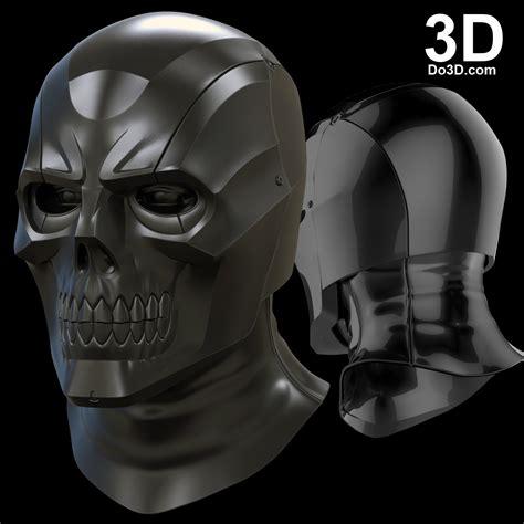 free printable vulture mask 3d printable model black mask arkham knight helmet