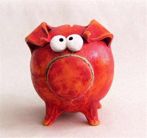 Handcrafted Piggy Banks - 17 best images about pottery ideas on serving