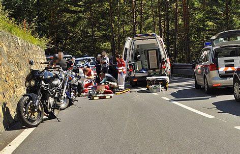 Motorradunfall Samstag by Zahlreiche Motorradunf 228 Lle Am Samstag Tirol Orf At