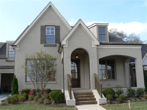 brandon beige painted brick stucco colors cottage paint colors and house colors