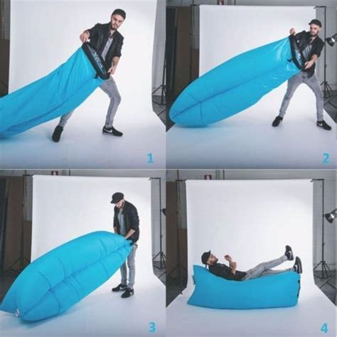 Kursi Sofa Angin kursi angin malas lazy air bag sofa bed laybag