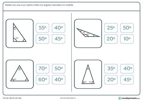 problemas para ni os de cuarto de primaria ficha del 225 ngulo correcto para ni 241 os de 6 186 de primaria