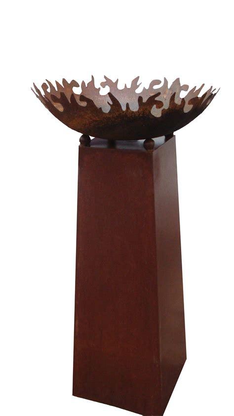 feuerschale hoch feuerschale pflanzschale kerzen feuerrand 50 cm rund mit