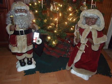 african american mr mrs santa clause idris clay flickr