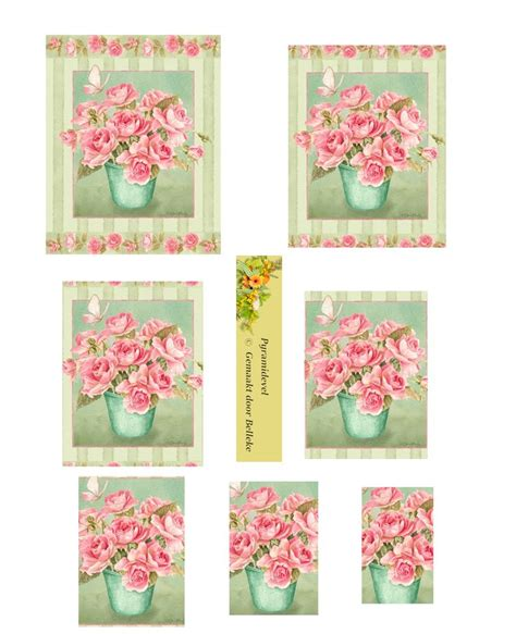 Decoupage Cards Ideas - 4078 best images about 3d flowers on