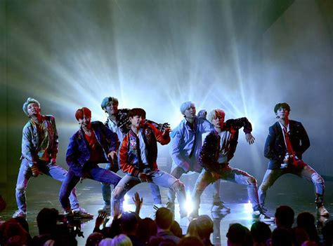 Bts On Ama | bts brings down the house with history making 2017