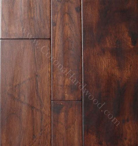 Distressed Hickory Laminate Flooring - hickory distressed gunstock engineered flooring kitchen